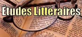 Etudes littéraires